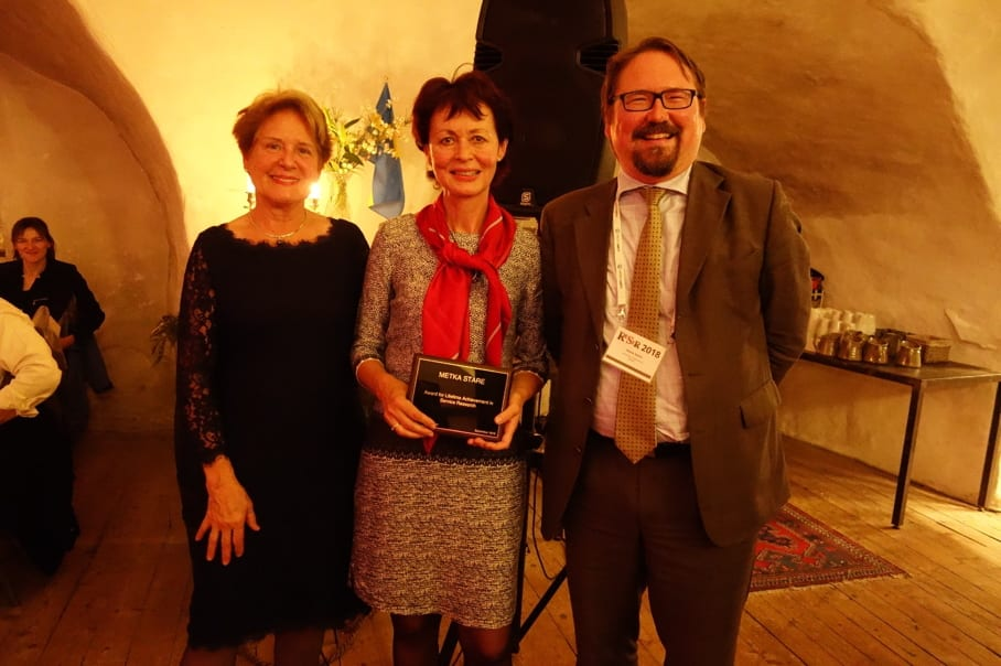 RESER Award 2018 to Metka Stare